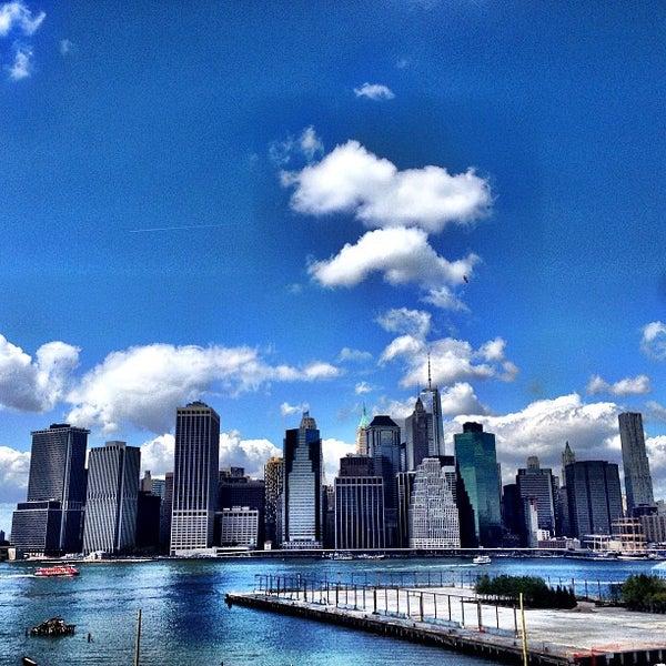 Photo taken at Brooklyn Bridge Park by Rigo M. on 9/8/2013