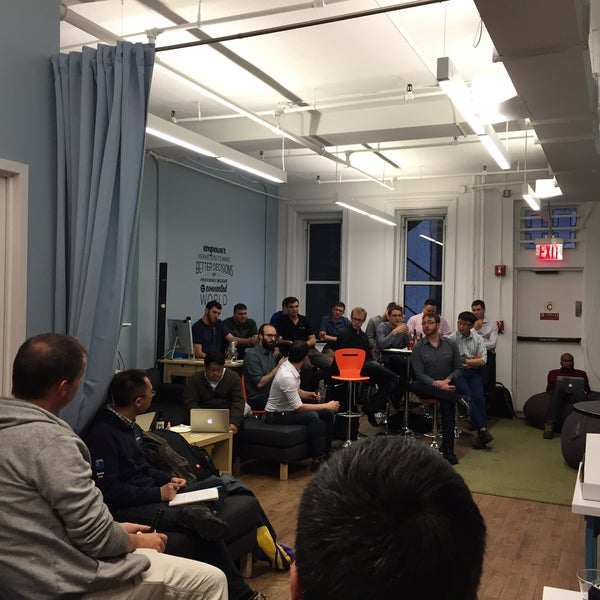 Photo taken at Bitly HQ by Benny W. on 6/2/2015