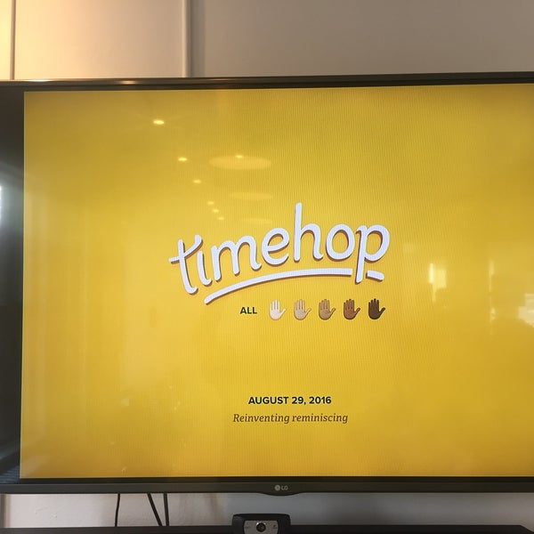 Photo taken at Timehop HQ by Benny W. on 8/29/2016