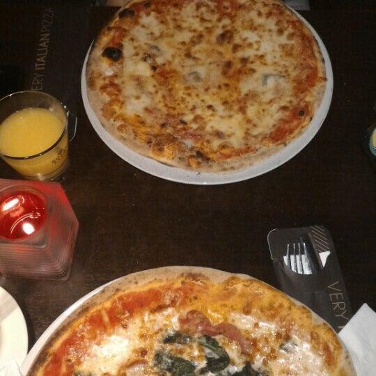 Photo taken at Very Italian Pizza by Myra 'sunshine' G. on 2/11/2016