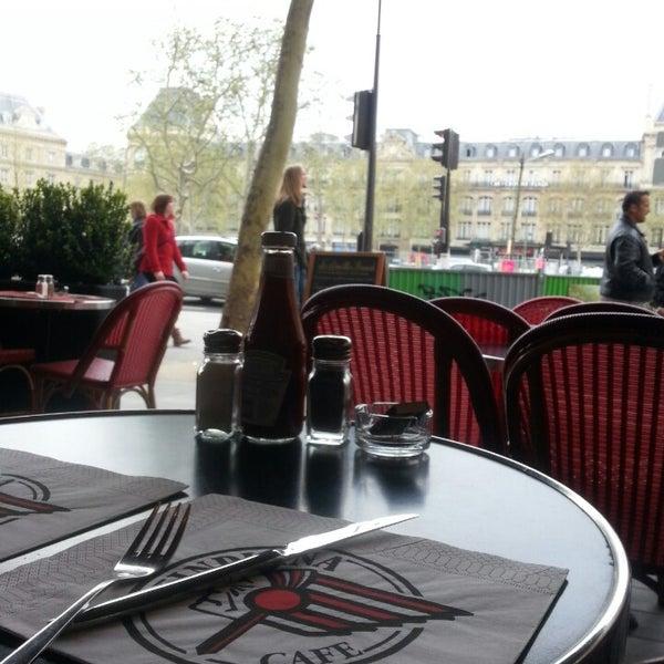 Photo taken at Indiana Café – République by Fanny L. on 4/28/2013
