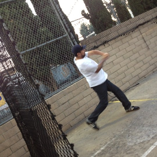 Photo Taken At Home Run Park Batting Cages By Maribel M On 11 26