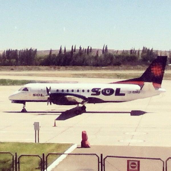 Foto tomada en Aeropuerto Internacional del Neuquén - Presidente Juan D. Perón (NQN) por Narciso S. el 11/27/2012
