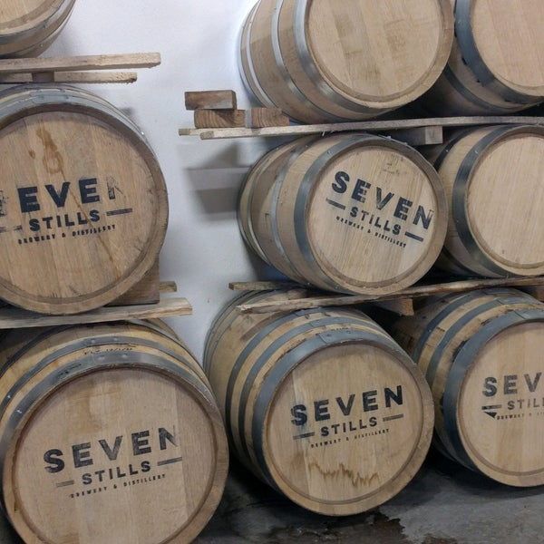 Photo taken at Seven Stills Brewery & Distillery by Keith T. on 1/14/2017