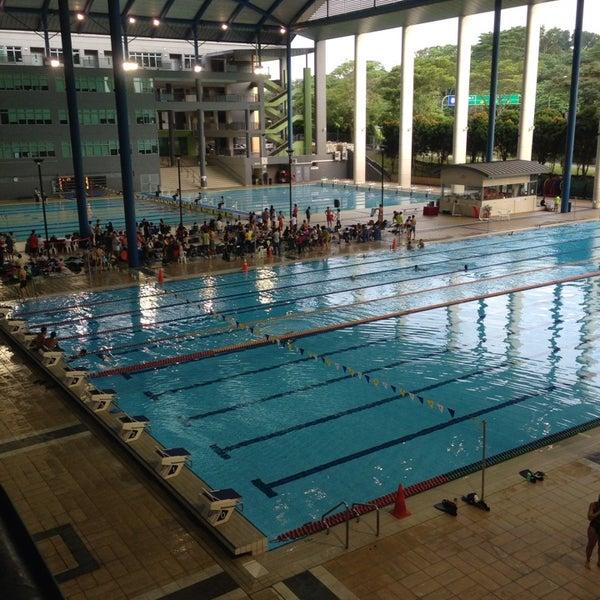 Singapore sports school swimming pool now closed pool - Swimming pool singapore opening hours ...