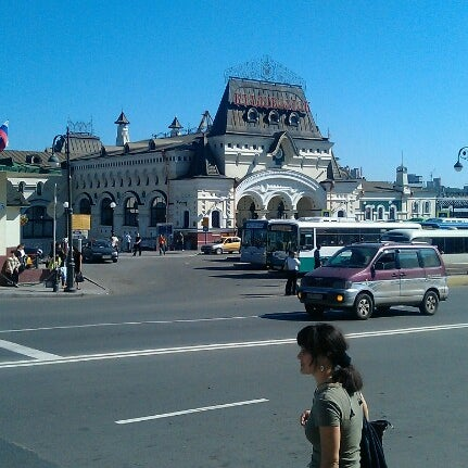 Photo taken at Железнодорожный вокзал Владивостока / Vladivostok Railway Station by 😉Иван С. on 9/20/2012