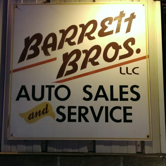Photo taken at Barrett Bros. Auto Repair by Andrea B. on 4/25/2014