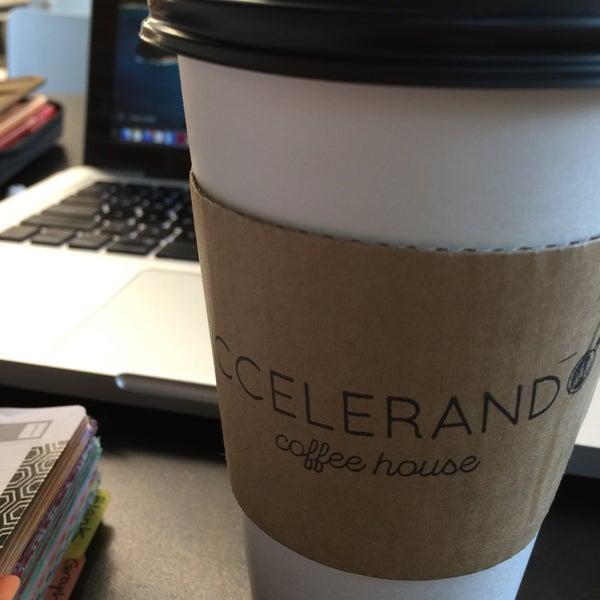 Photo taken at Accelerando Coffee House by Gretchen G. on 10/1/2016