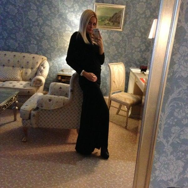 Photo taken at Radisson Royal Hotel by Юлиана Е. on 3/21/2013