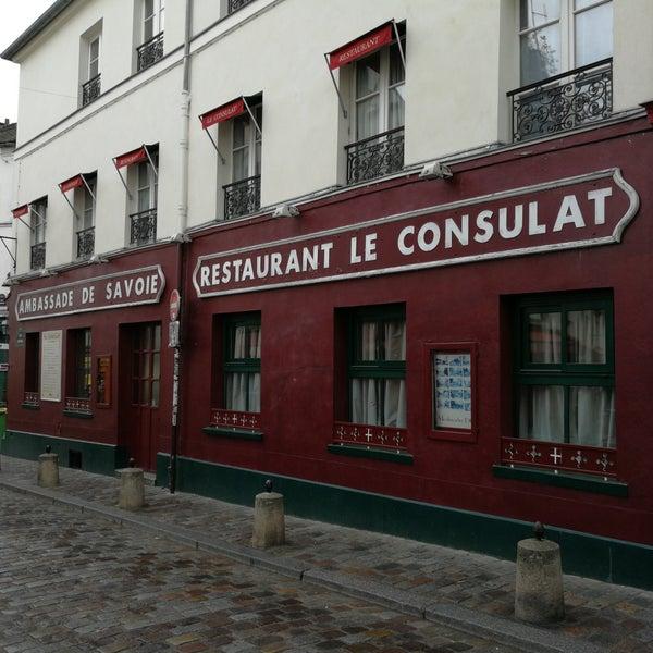 le consulat ambassade de savoie   french restaurant in paris