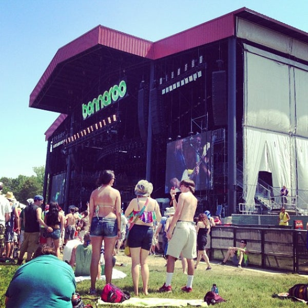 Photo taken at What Stage at Bonnaroo Music & Arts Festival by Christian R. on 6/15/2013
