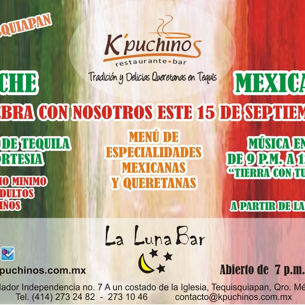 Noche Mexicana en Kpuchinos...