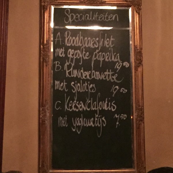 In den Boekenkast - Café