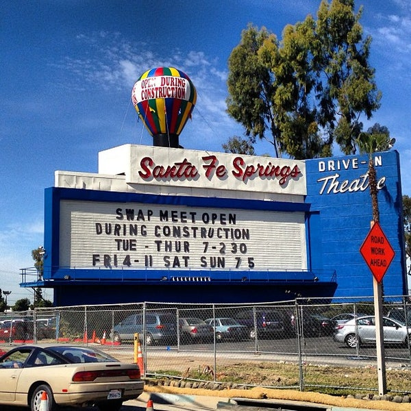 santa fe springs swap meet in california