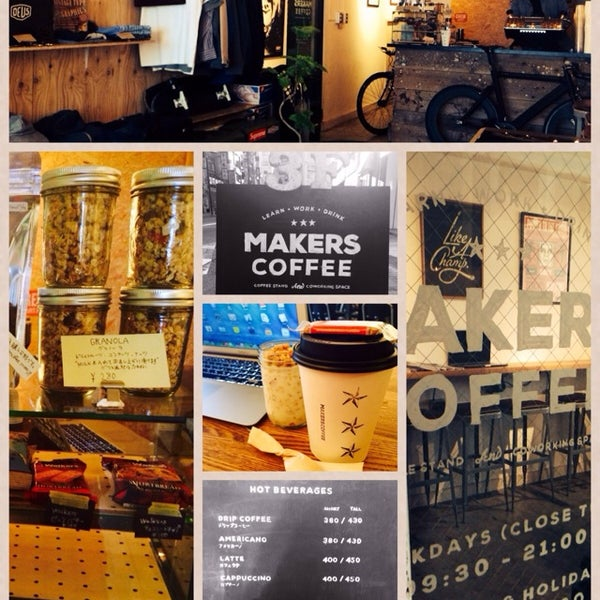 Photo taken at MAKERS COFFEE by Kao T. on 5/22/2014
