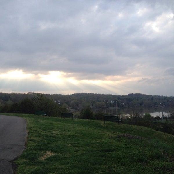 Photo taken at Lakeshore Park by Liz on 4/9/2014