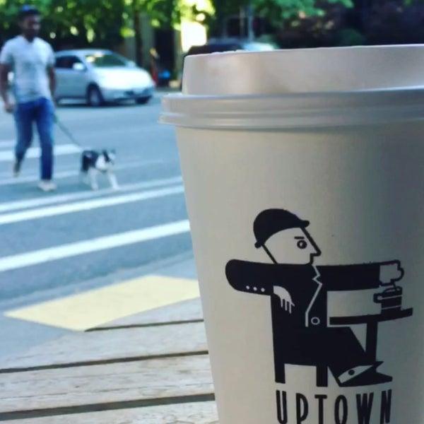 Photo taken at Uptown Espresso by N on 7/18/2017