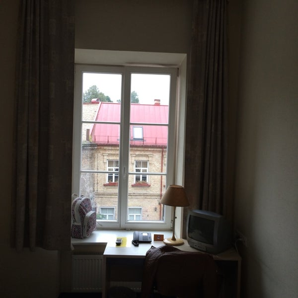 Photo taken at Comfort Hotel Vilnius by Antonio L. on 9/10/2014