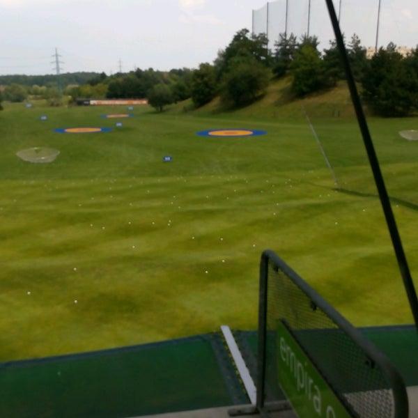 Photo taken at Golf Hostivař by Hanule B. on 7/26/2016