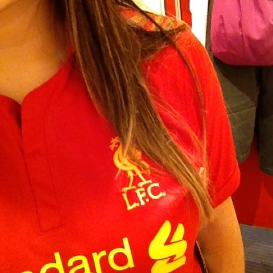 Photo taken at Liverpool FC Official Club Store by Thalita S. on 10/6/2012