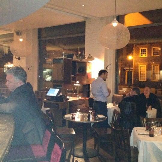 Photo taken at Bistrot Bruno Loubet by Soteris on 10/14/2012
