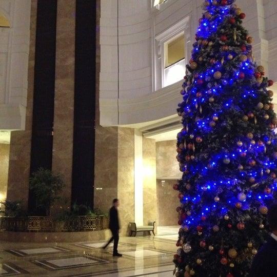 12/8/2012 tarihinde Soterisziyaretçi tarafından Rixos Almaty'de çekilen fotoğraf