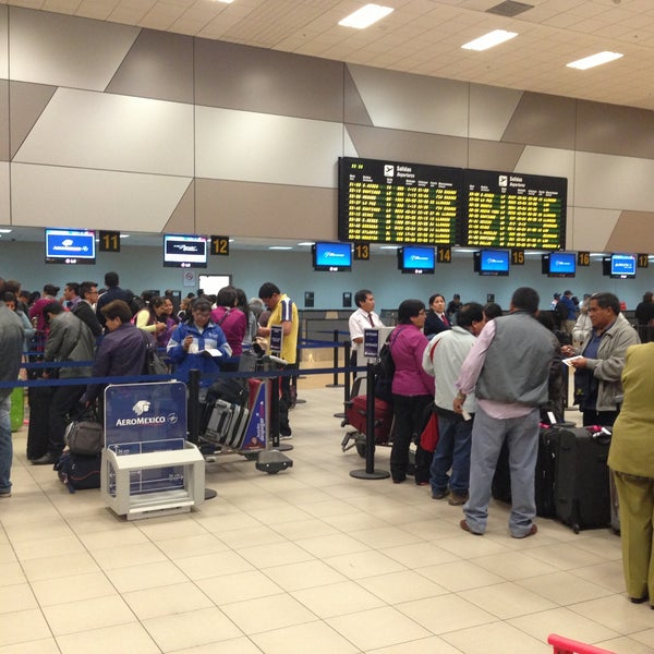 Photo taken at Jorge Chávez International Airport (LIM) by Alexander E. on 4/22/2013