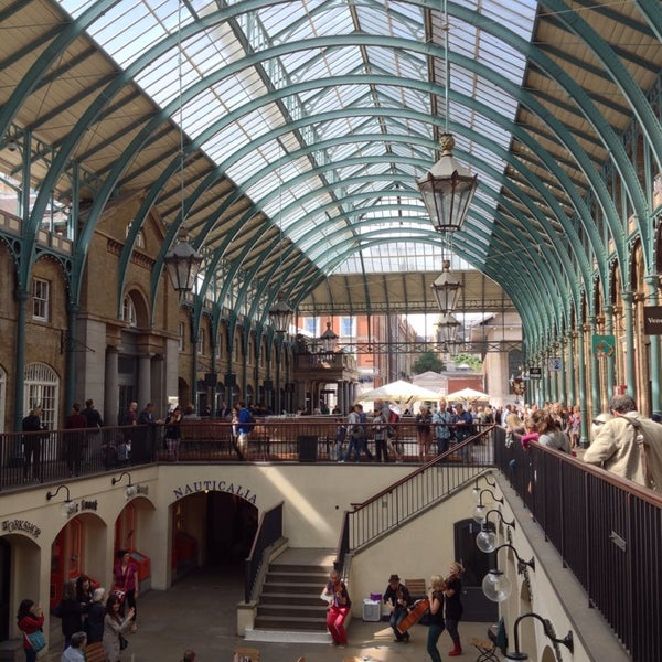 Photo taken at Covent Garden Market by Richard Y. on 8/13/2013