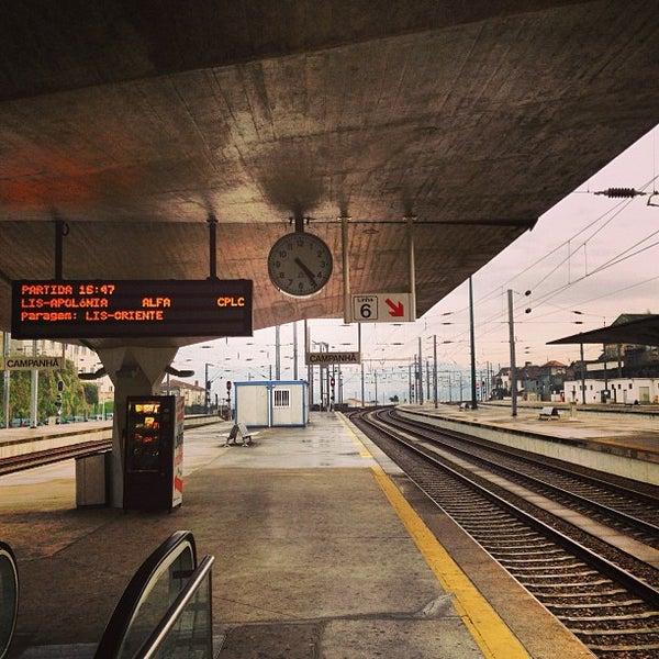 Photo taken at Estação Ferroviária de Porto-Campanhã by Jorge B. on 1/8/2013