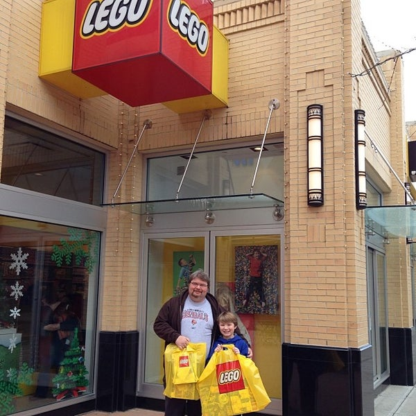 Photo taken at The LEGO Store by Rich R. on 11/30/2013