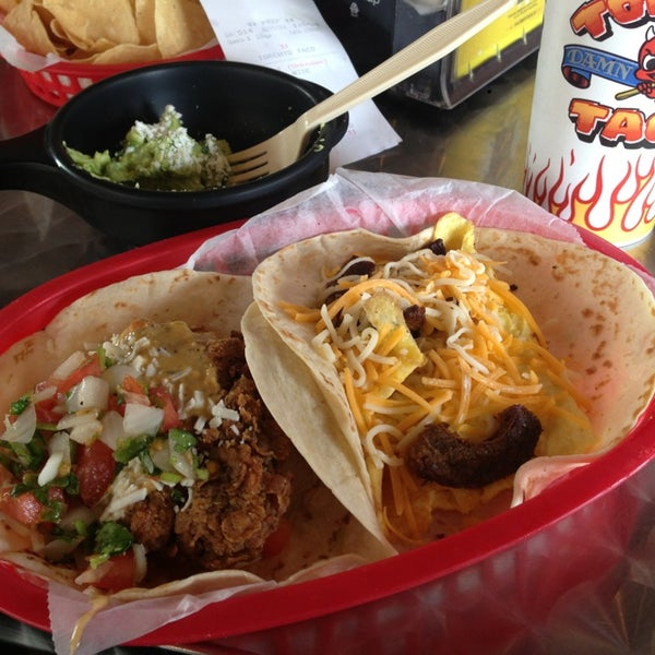 Photo taken at Torchy's Tacos by Paul R. on 2/15/2013