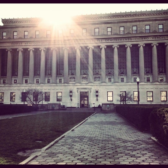 Photo taken at Butler Library by Natalia Q. on 11/23/2012