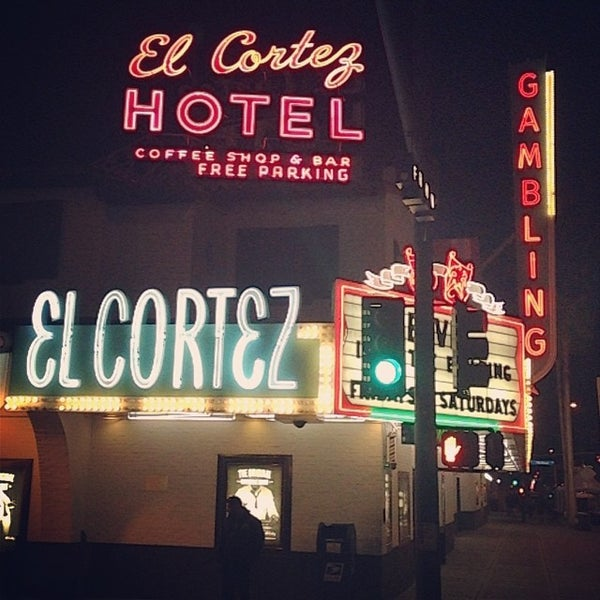 Photo taken at El Cortez Hotel & Casino by Shawn D. on 11/7/2013