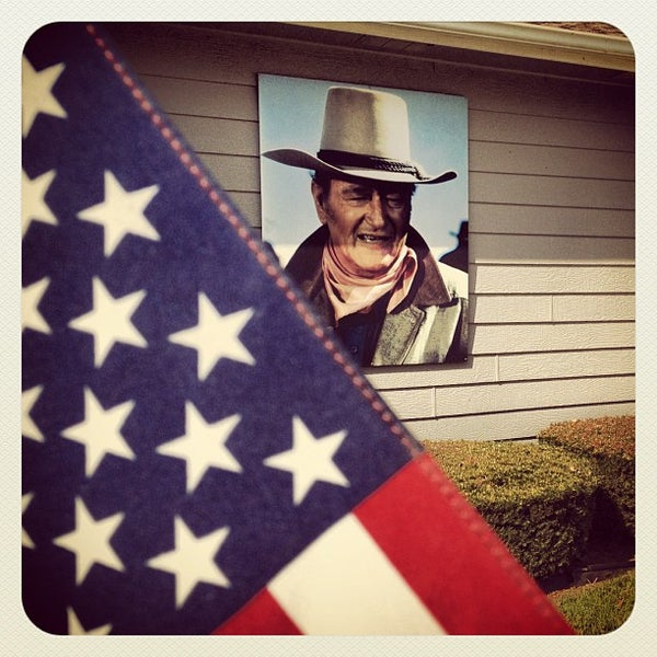 Photo taken at John Wayne Birthplace Museum by James L. on 9/29/2012