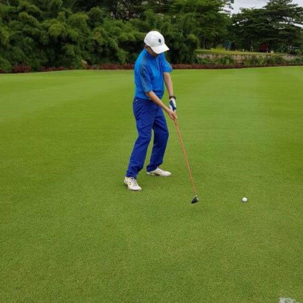 4/8/2017 tarihinde Harry Hanawiziyaretçi tarafından Pondok Indah Golf & Country Club'de çekilen fotoğraf