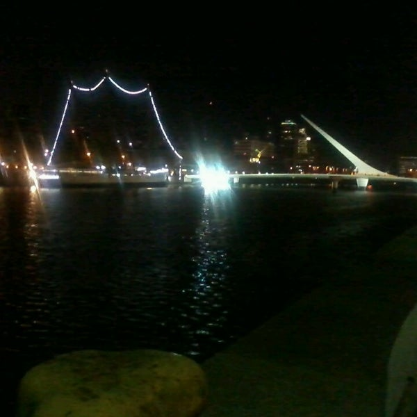 Photo taken at Puerto Madero by Maggie I. on 6/1/2013
