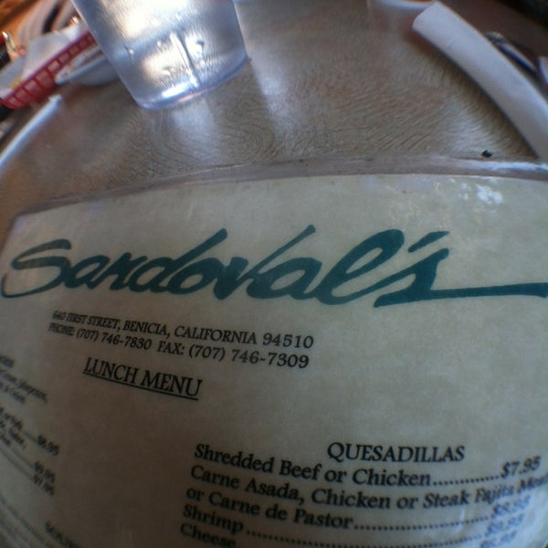 Sandoval S Restaurant Benicia