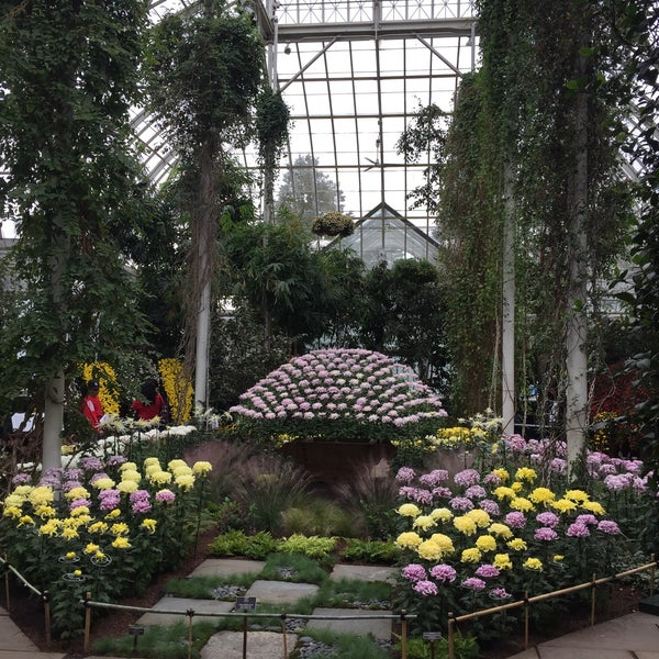 Photo taken at Enid A. Haupt Conservatory by Gene R. on 10/8/2016