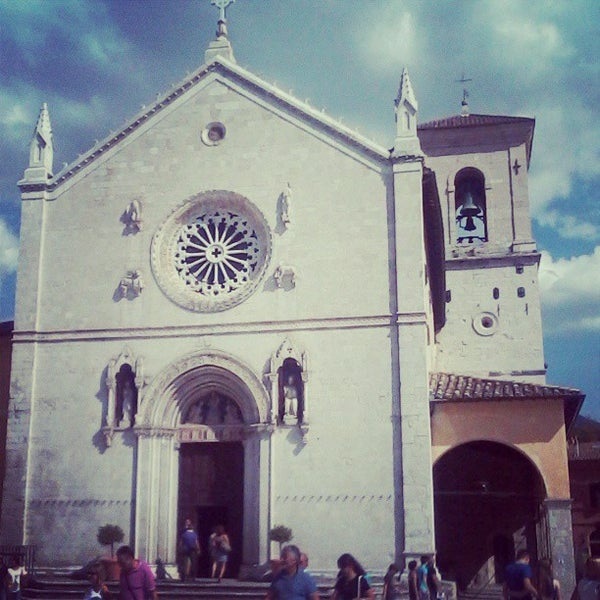 Photo taken at Norcia by Lucia C. on 9/1/2013