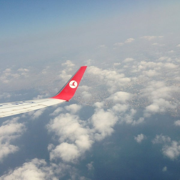 Photo taken at Istanbul Sabiha Gökçen International Airport (SAW) by Oktay T. on 7/13/2013
