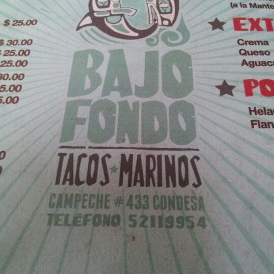 Photo taken at Bajo Fondo by Boris O. on 3/27/2013
