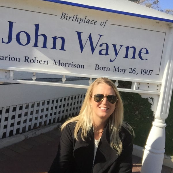 Photo taken at John Wayne Birthplace Museum by Becky F. on 10/17/2015