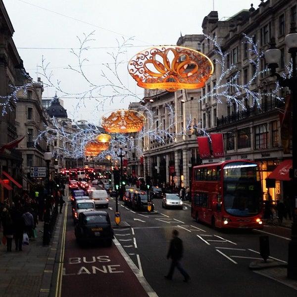 Photo taken at Oxford Street by Anastasia K. on 1/7/2013