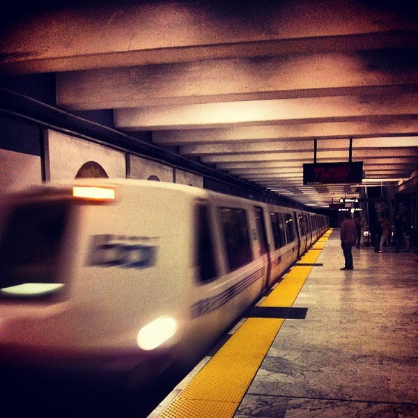 Photo taken at Civic Center/UN Plaza BART Station by William D. on 7/28/2013