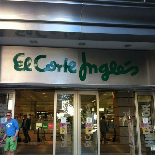 El corte ingl s department store - El corte ingles stores ...