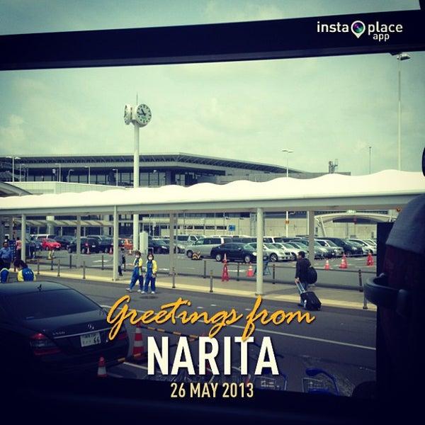 Photo taken at Narita International Airport (NRT) by gani a. on 5/26/2013