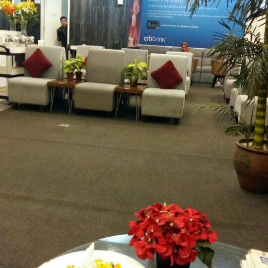 Photo taken at Citibank Lounge by Taslim Q. on 8/25/2015