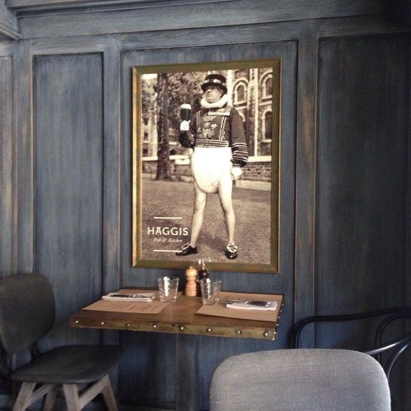 Photo taken at Haggis Pub & Kitchen by Олья on 7/26/2014