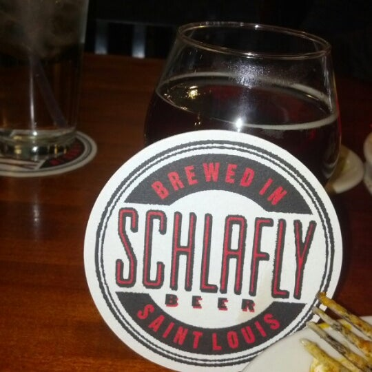 Photo taken at Schlafly Bottleworks by Laura P. on 10/7/2012