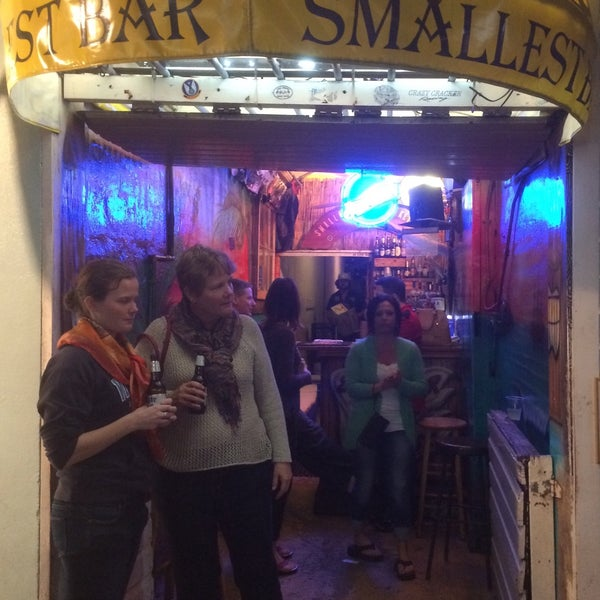 Photo taken at Smallest Bar by Chris R. on 1/26/2015